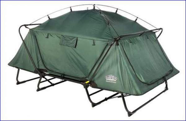 Kamp Rite Double Tent Cot Review - Full Outdoor Comfort