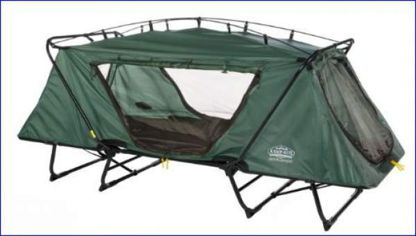 Oversize Tent Cot without rain fly.