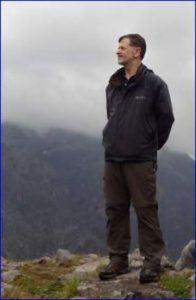 Me on a mountain above Livigno.