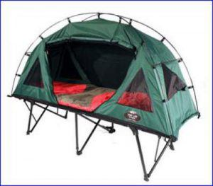 Kamp Rite Compact Collapsible tent cot.