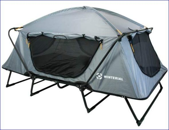 Winterial Oversize without rain fly. & Winterial Oversize Outdoor Tent Cot Review - Best Tent Cots For ...
