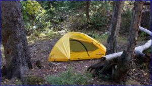 Outfitter XXL Quick tent used on the ground.