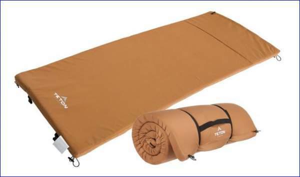 Teton Sports camping pad.
