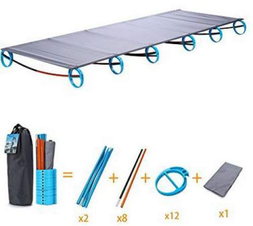Yahill Ultralight Folding Portable Cot