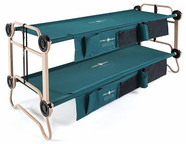 Disc-O-Bed Large With Organizers.