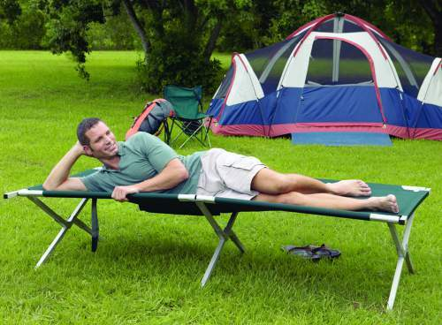 Texsport King Kot Giant Easy Set-Up Folding Sleeping Camp Cot.