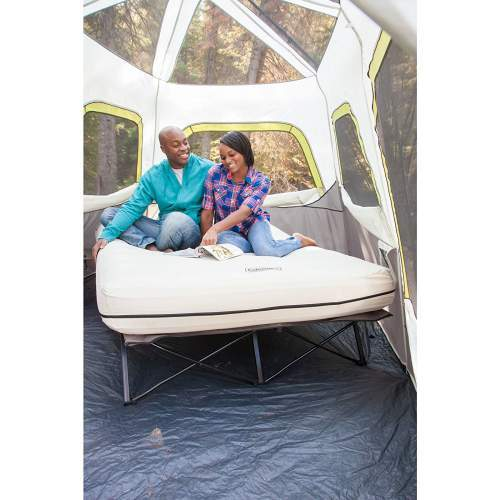 The Coleman Airbed Cot system offers a lot of comfort.
