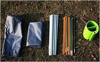 YaeKoo Outdoor Super Ultralight& Portable Folding Aluminium alloy Cot - elements.