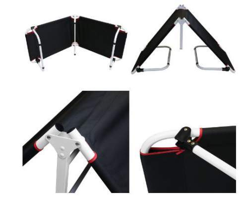 The setup cannot be easier, just unfold the bed and legs.