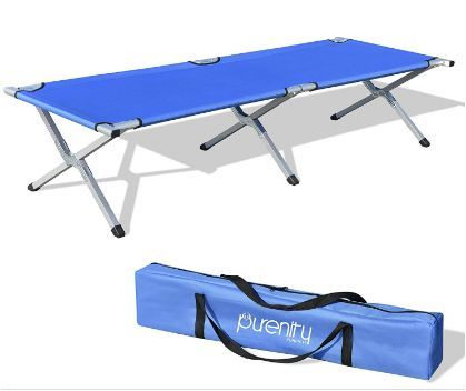 Purenity Folding Military Bed.