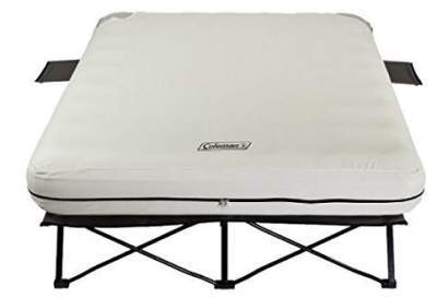 Coleman Queen Cot Air Bed with mattress, collapsible tool. Group 1.B)