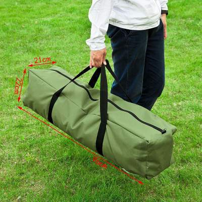 This is a portable and collapsible set, all fits in this nice carry bag.