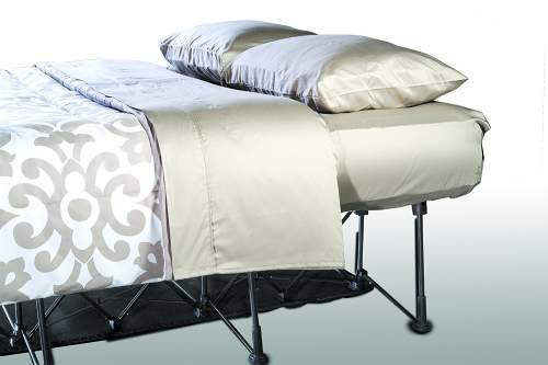 This is a comfortable bed for home and outdoor use.