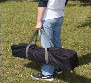 Very useful carry bag for transport and storage.