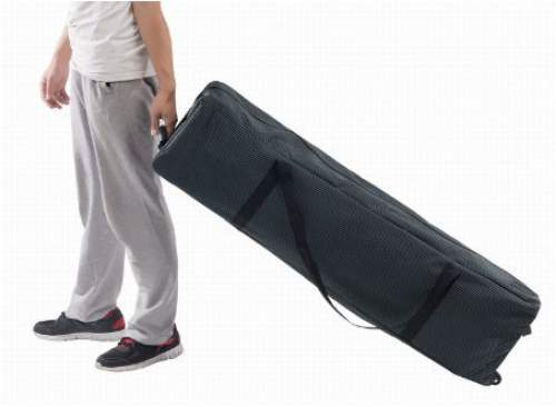 Nicely designed carry bag for transport and storage.