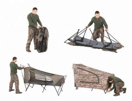 Ozark Trail Realtree AP Instant Tent Cot - Incredibly Easy