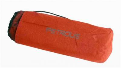This is the cot packed in its carry bag, with only 54 cm of length, simply impressive.