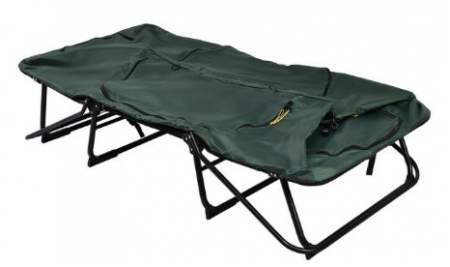 The cot can be used as an emergency bed.