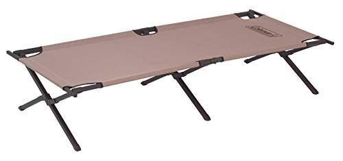 Coleman Trailhead II cot - military style, collapsible tool.