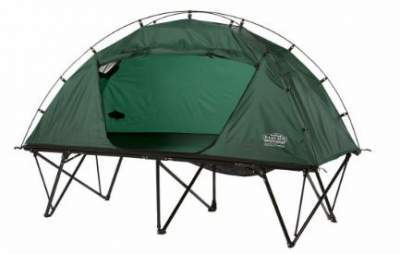 Kamp-Rite Compact collapsible double tent cot.