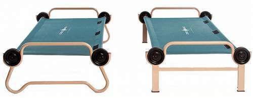Here you have the two cots used separately and independently.