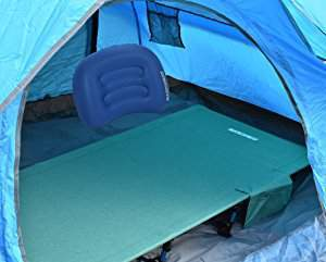 This cot fits in any tent.