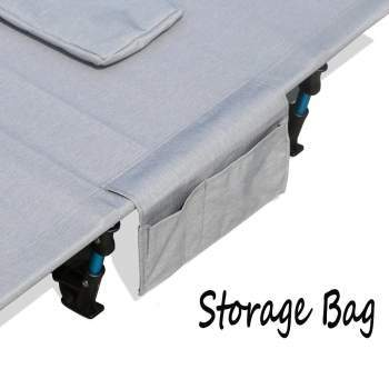The bonus storage pouch.