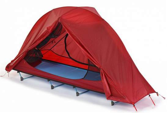 FUNS Off Ground 1 Person Backpacking Tent Cot.