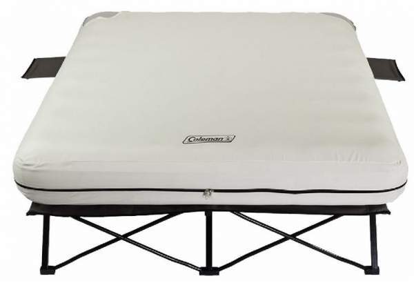Coleman Queen Size Cot with air mattress.