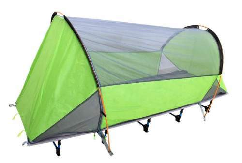 UBOWAY Unique Tunnel Shape Camping Tent Cot.