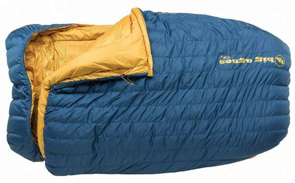 Big Agnes - King Solomon 15 Sleeping Bag with 600 DownTek Fill.