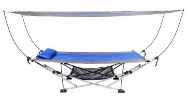 Mac Sports Portable Folding Hammock.