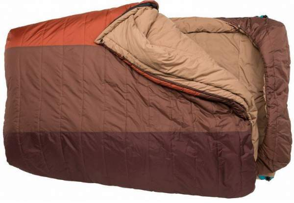 Big Agnes Dream Island 15F Degree Double Wide Sleeping Bag.