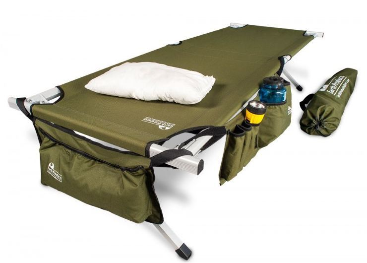 EARTH Ultimate Extra-Strong Military Style Camping Cot .