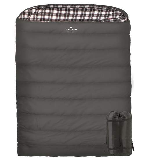 TETON Sports Fahrenheit Mammoth Double Sleeping Bag.