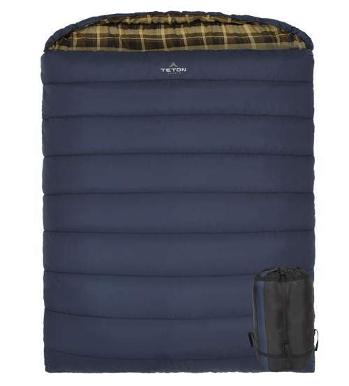 TETON Sports Mammoth Queen Size Sleeping Bag.