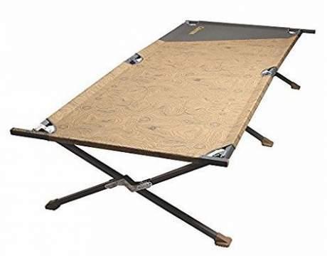 Coleman Big-N-Tall camping cot.