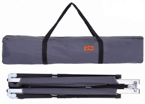 The cot packs in this nice carry bag.