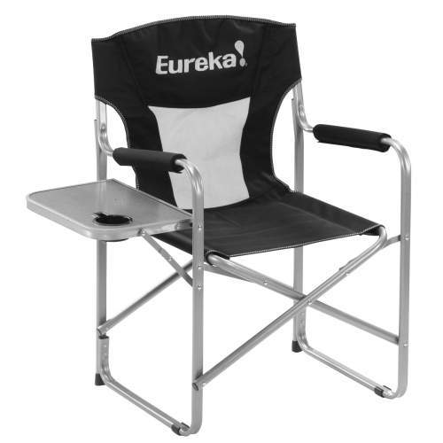 Eureka Directors Chair with Side Table.