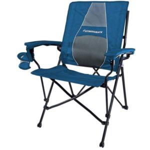 STRONGBACK Elite Folding Camping Chair with Lumbar Support
