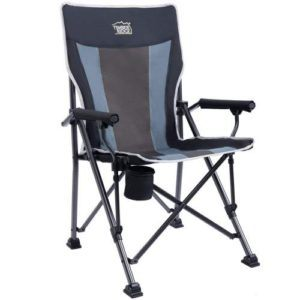 Timber Ridge Camping Chair with Ergonomic High Back Support