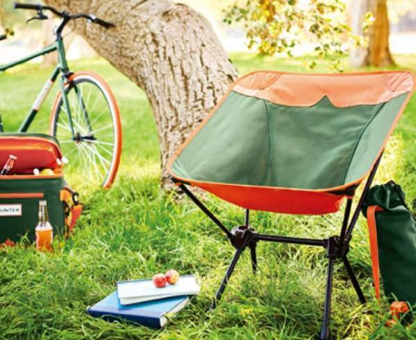 A very versatile chair for any outdoor activity.