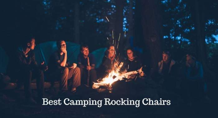Astounding 15 Best Camping Rocking Chairs For 2020 Best Tent Cots For Pabps2019 Chair Design Images Pabps2019Com