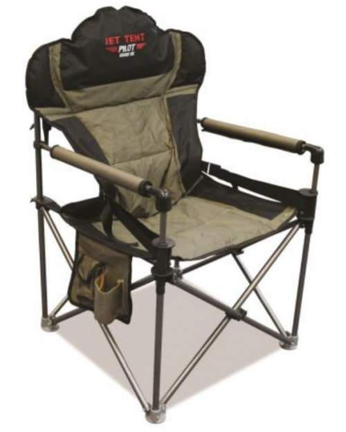 Jet Tent Pilot DX Camping Chair with Lumbar Support.