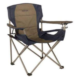 Kamp-Rite Padded Folding Chair with Lumbar Support