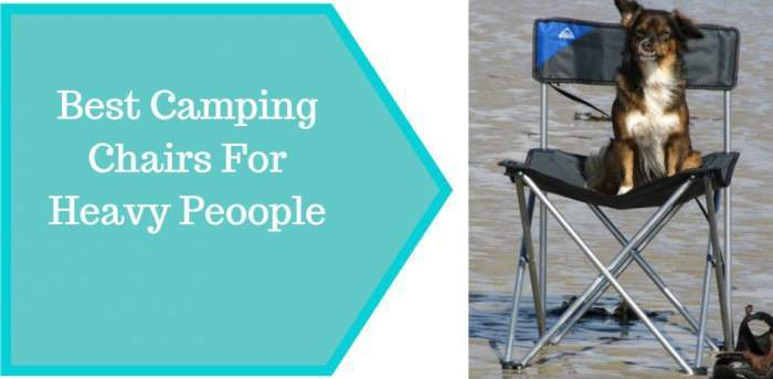 10 Best Camping Chairs For Heavy People 400 800 Lb