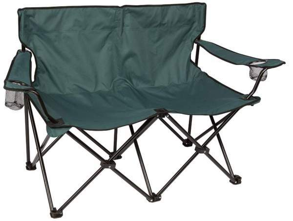 Trademark Innovations Loveseat Style Double Camp Chair.