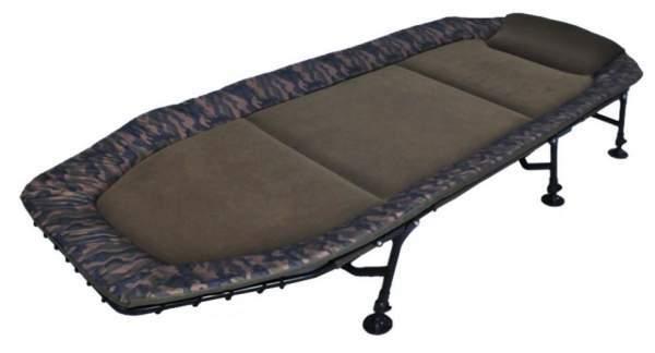 AMENITIES DEPOT Memory Foam 6-Leg Foldable Camping Cot