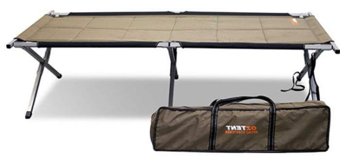 OzTent Gecko Camping Cot Stretcher.