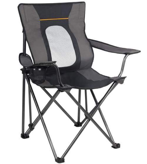 PORTAL Folding Camping Chair with Lumbar Support.